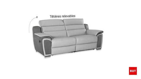 but canapé relax canapé 3 places relax électrique but