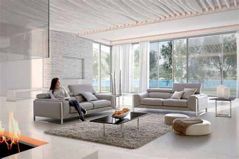 home salon canape nuage canapé cuir tétières relevables et pieds métal