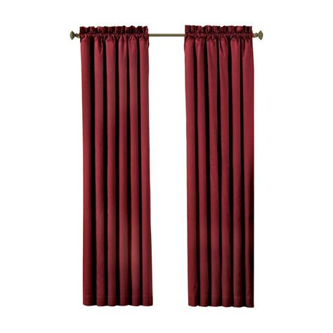 absolute zero curtains home depot absolute zero total blackout black faux velvet curtain