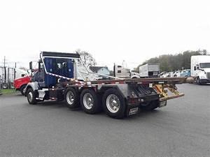 2007 Kenworth T800 Tri Axle Roll Off Truck
