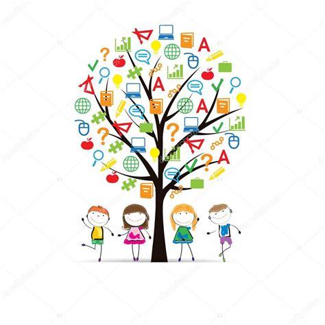 albero clipart albero scuola vettoriali stock 169 justaa 71499469