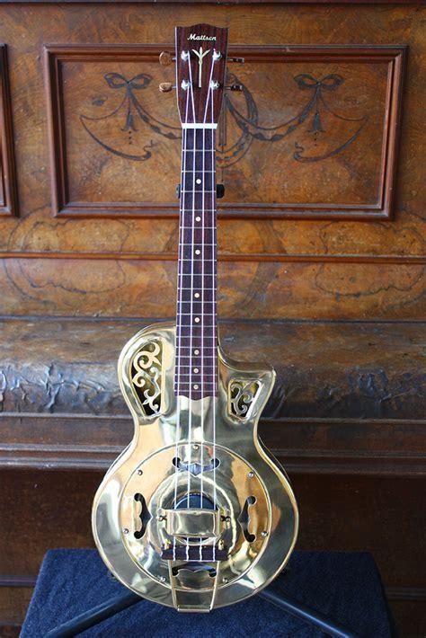 Resonator Guitar Design