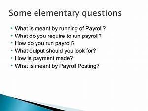 Payroll Deductions Calc Payroll Basics