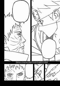 Uchiha Obito vs Hatake Kakashi : Manga 629 by Dima334241 ...
