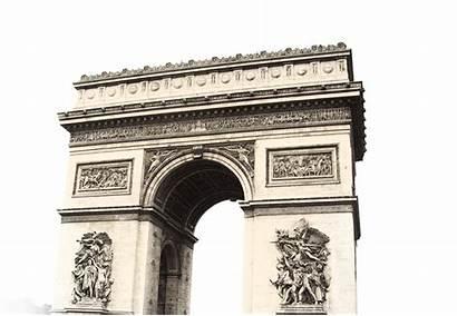 Paris Arc Triomphe Transparent Architecture Tag Purepng