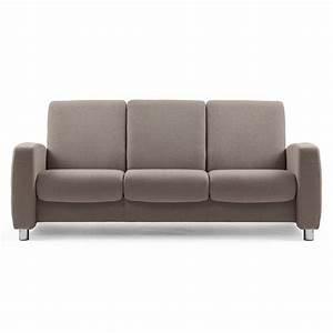 3 Sitzer Sofa : stressless sofa 3 sitzer arion m niedrig dark beige stahl ~ Frokenaadalensverden.com Haus und Dekorationen