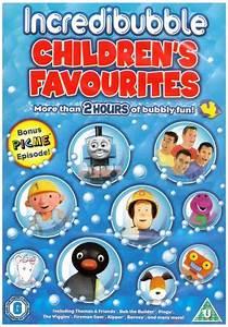 Children's Favourites: Incredibubble [DVD] at Shop Ireland