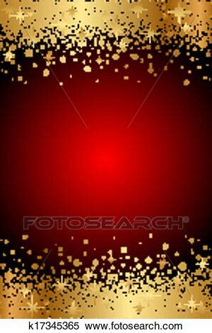 red  gold luxury background clipart