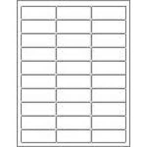 Template For Address Labels 30 Per Sheet Avery 5160 Labels Compatibles Also For Avery 5260 5970 5971 5972 5979 5980 8160 8460 Labels