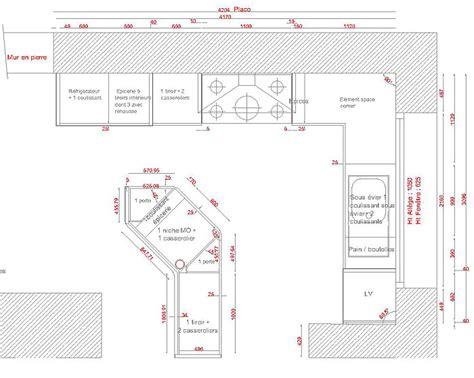 Exemple Plan De Cuisine - exemple plan de cuisine idées de design suezl com