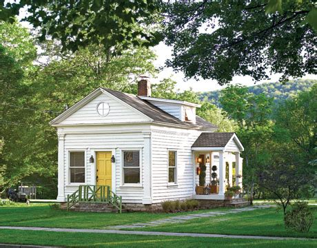 Home Decor For Small Houses by From Neglected Schoolhouse To Chic Cottage