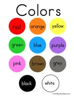 Choose a poster template from the selection below and either use as is or change the text with our. Color Preschool Printables - Preschool Mom