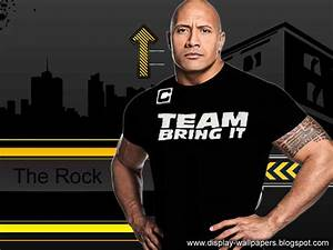 The gallery for --> Wwe The Rock Just Bring It Wallpaper