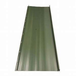 fabral residential 8 ft standing seam galvanized steel With 20 ft metal roof panels