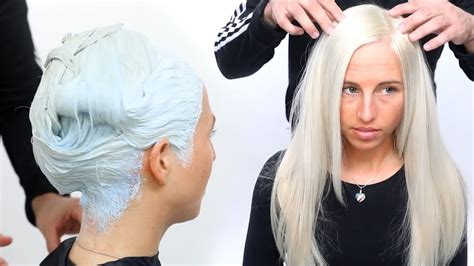 color hair white white hair color tutorial youtube