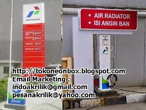 Jasa Neonbox Murah Jakarta Pesan Neonbox Huruf Timbul