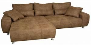 Couch Mit Großer Liegefläche : ecksofa mit recamiere und schlaffunktion sofadepot ~ Bigdaddyawards.com Haus und Dekorationen