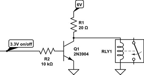 Driving Relay From Gio Pin Raspberry
