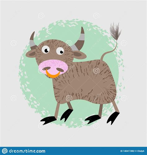 Learn vocabulary, terms and more with flashcards, games and other study tools. Cartoon Vector Illustration Of Funny Bull Farm Animal ...