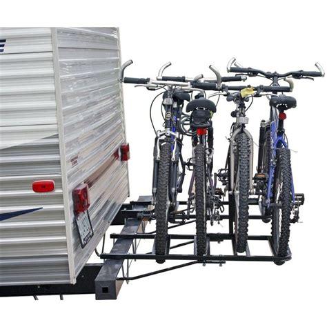 bike rack for rv xc hitch or bumper mount rack swagman 64663 bike racks
