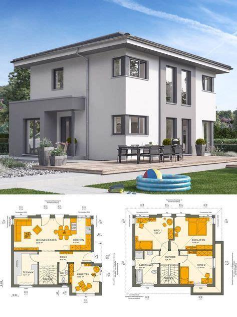 Fassade Weiß Anthrazit by Einfamilienhaus Architektur Modern Mit Walmdach Und Putz