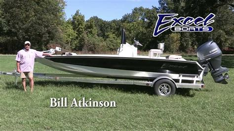 Excel Boats Bay Pro 203 by Excel Boats Bay Pro 203 Walk Thru With Bill Atkinson