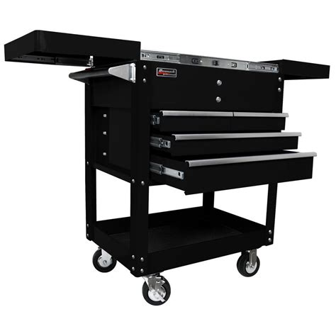 4 drawer tool cart homak professional 35 in 4 drawer slide top service
