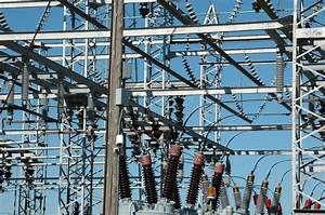 Power Distribution Site Stock Image  Image Of Public