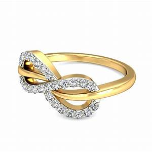 tantalizing infinity ring diamond ring 025 carat round With wedding ring infinity design
