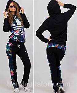 Adidas jogging suit womens