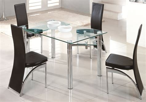 glass table six chairs glass dining table write teens