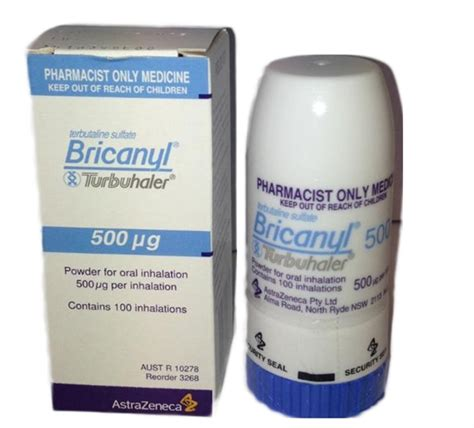 Pictures Of Bathroom Accessories Bricanyl Turbuhaler 500mcg 100 Doses