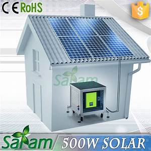 Cheap Solar Panel System Home 0.5kw - Buy Solar Panel ...