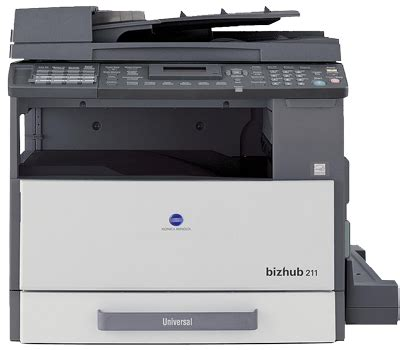 Hasta entonces, puede usarse el driver de windows 8/8.1, logo de windows (whck) hasta windows 8/8.1 solo. KONICA MINOLTA BIZHUB 163/211 PRINTER DRIVER
