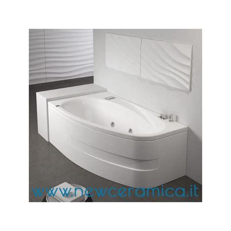 Vasca Grandform vasca rettangolare asimmetrica con idromassaggio