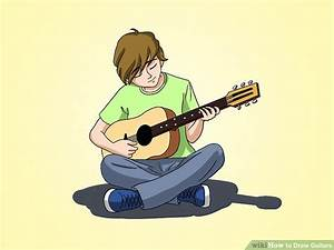 4 Ways to Draw Guitars - wikiHow