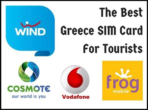 wind mobile sim card what is the best prepaid sim card in greece for tourists