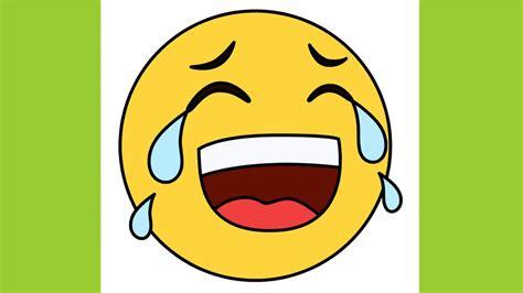 draw cute emoji laughing tears laughing crying lol