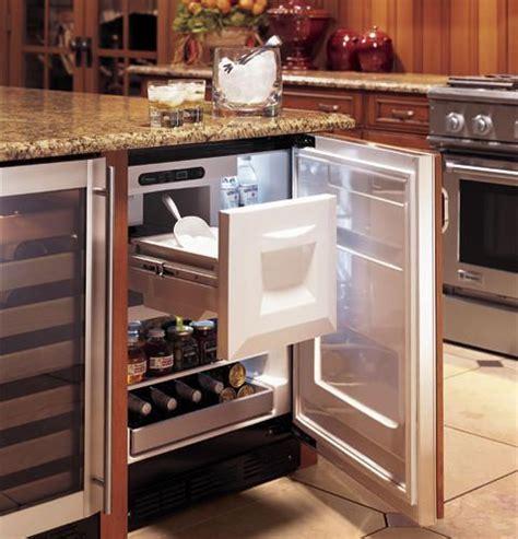 ge monogram bar refrigerator  ice maker ebay kitchen remodel small kitchen design kitchen