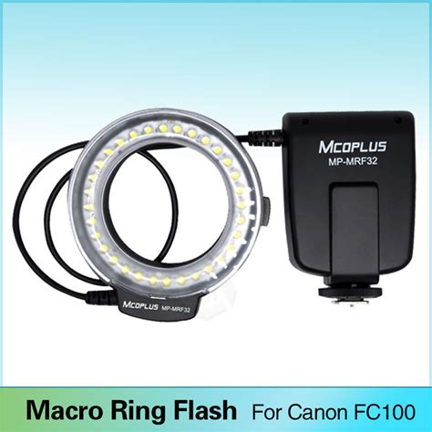 ring light flash canon meike fc 100 macro ring flash light for canon eos 600d 50d