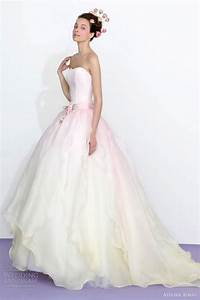 atelier aimee 2013 color wedding dresses wedding inspirasi With pink ombre wedding dress
