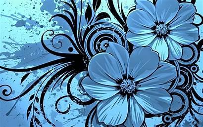 Floral Keynote Template Flower Flowers Cool Drawing