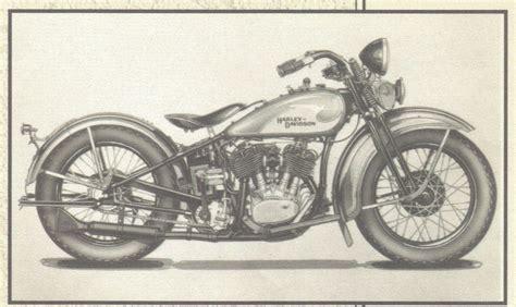 Harley Davidson Vintage Art Print