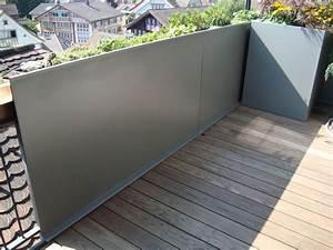 sichtschutz rohner ag teufen deutsch With markise balkon mit natur tapete