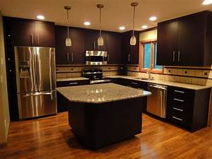 black and brown kitchen ideas best home decoration world With brown and black kitchen designs