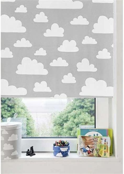 verdunkelungsrollo kinderzimmer jalousien graue wolken kleiner schatz kidsroom - Kinderzimmer Wolken