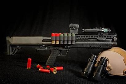 Shotgun Kel Tec Weapon Ksg Helmet Gun