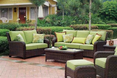 Outdoor Wicker Patio Furniture by Outdoor Resin Wicker Patio Furniture Sets Decor