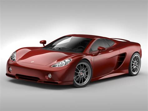 Model Car by Ascari Kz1 Sports Car 3d Model Cgtrader