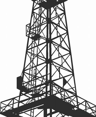 Oilfield Drawing Services Oil Tower Line Getdrawings